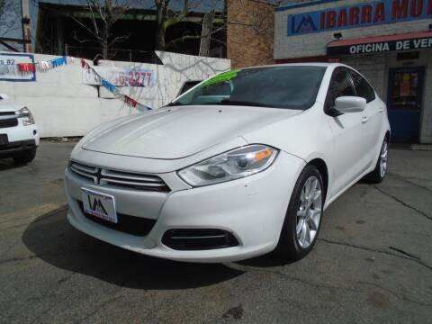 2013 Dodge Dart for sale at IBARRA MOTORS INC in Cicero IL