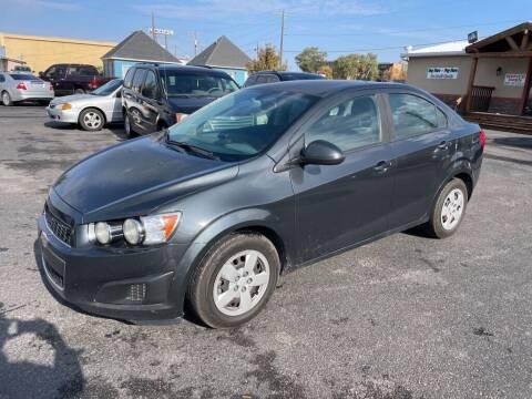 2014 Chevrolet Sonic for sale at Creekside Auto Sales in Pocatello ID