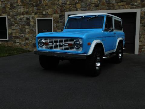 1974 Ford Bronco for sale at Shedlock Motor Cars LLC in Warren NJ