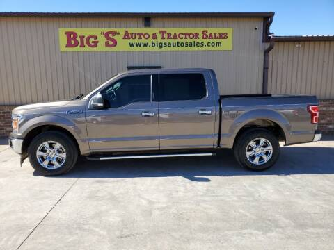 2018 Ford F-150 for sale at BIG 'S' AUTO & TRACTOR SALES in Blanchard OK