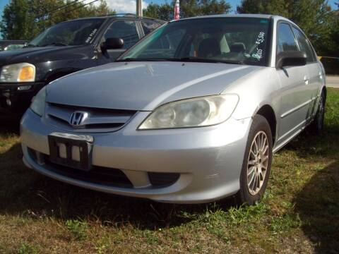 2005 Honda Civic for sale at Frank Coffey in Milford NH