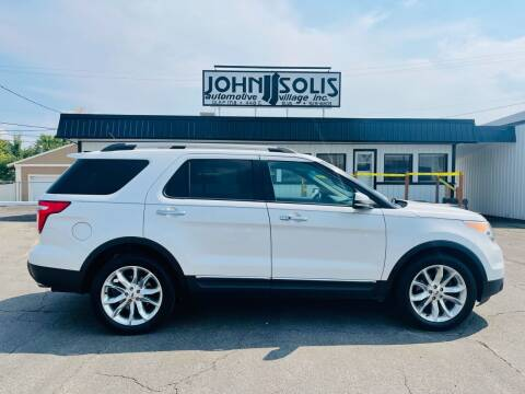 2011 Ford Explorer for sale at John Solis Automotive Village in Idaho Falls ID