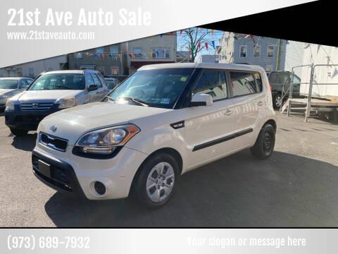 2012 Kia Soul for sale at 21st Ave Auto Sale in Paterson NJ