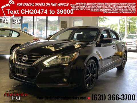 2017 Nissan Altima for sale at CERTIFIED HEADQUARTERS in Saint James NY