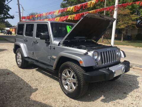 2014 Jeep Wrangler Unlimited for sale at Antique Motors in Plymouth IN