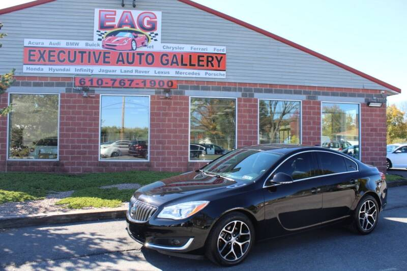 2017 Buick Regal for sale at EXECUTIVE AUTO GALLERY INC in Walnutport PA