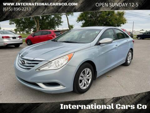 2011 Hyundai Sonata for sale at International Cars Co in Murfreesboro TN