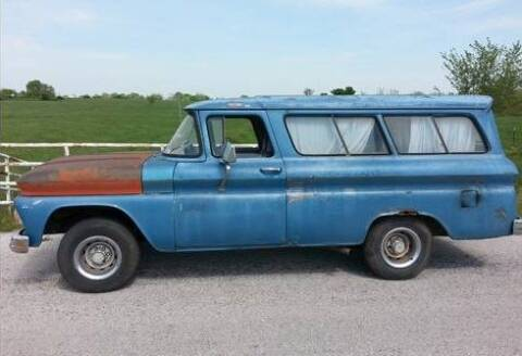 1963 Chevrolet Suburban for sale at Haggle Me Classics in Hobart IN