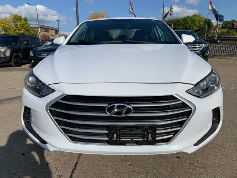 2017 Hyundai Elantra for sale at Minuteman Auto Sales in Saint Paul MN