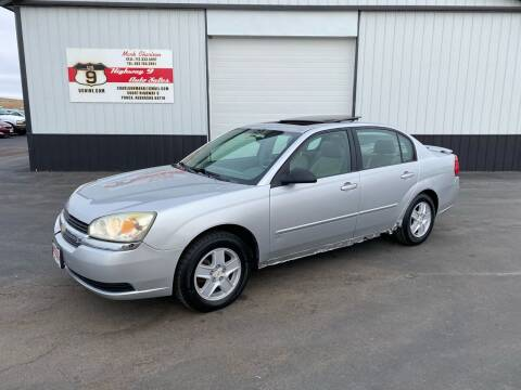 2004 Chevrolet Malibu for sale at Highway 9 Auto Sales - Visit us at usnine.com in Ponca NE