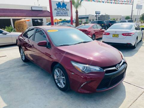 2016 Toyota Camry for sale at A AND A AUTO SALES - Yuma Location in Yuma AZ