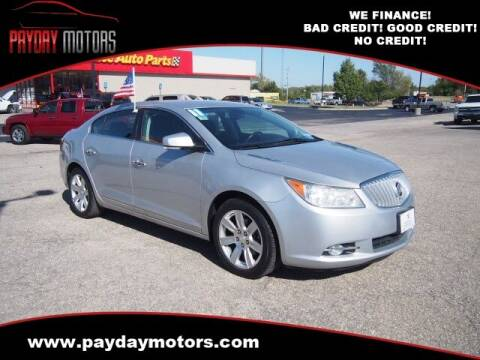 2011 Buick LaCrosse for sale at Payday Motors in Wichita KS