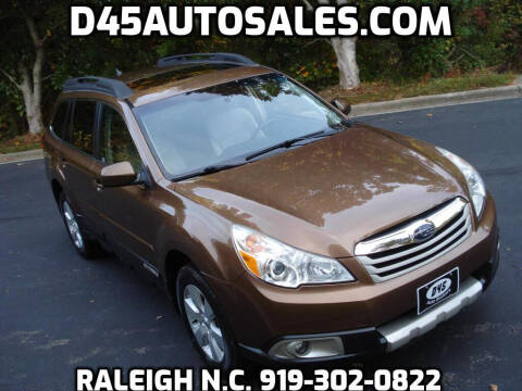 2012 Subaru Outback for sale at D45 Auto Brokers in Raleigh NC