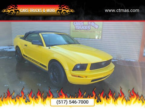 2005 Ford Mustang for sale at Cars Trucks & More in Howell MI
