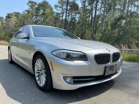 2011 BMW 5 Series for sale at Carrera AutoHaus Inc in Clayton NC