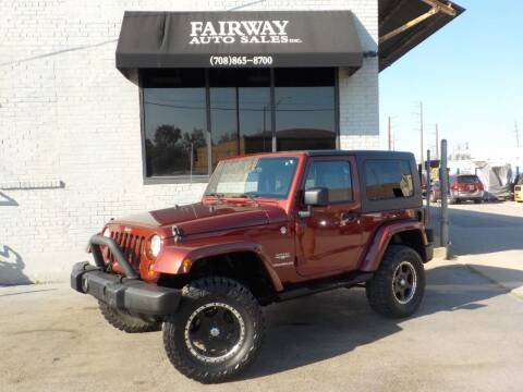 2007 Jeep Wrangler for sale at FAIRWAY AUTO SALES, INC. in Melrose Park IL