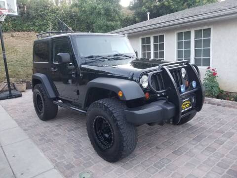 2012 Jeep Wrangler for sale at Best Quality Auto Sales in Sun Valley CA
