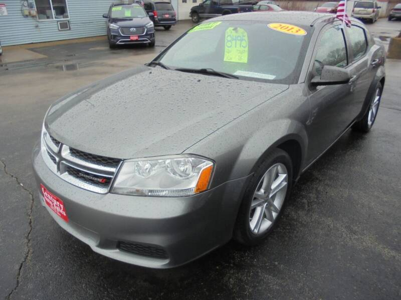 2012 Dodge Avenger for sale at Century Auto Sales LLC in Appleton WI