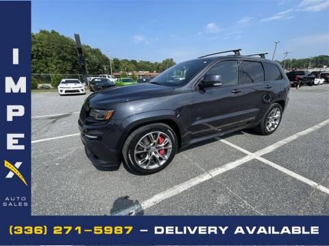 2015 Jeep Grand Cherokee for sale at Impex Auto Sales in Greensboro NC