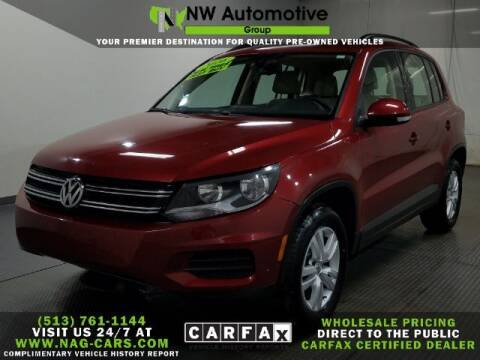 2016 Volkswagen Tiguan for sale at NW Automotive Group in Cincinnati OH