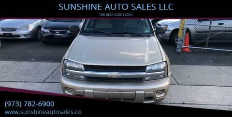 2006 Chevrolet TrailBlazer for sale at SUNSHINE AUTO SALES LLC in Paterson NJ