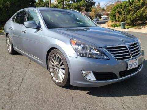 2014 Hyundai Equus for sale at CAR CITY SALES in La Crescenta CA