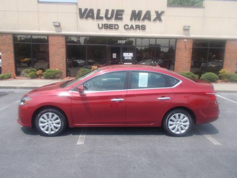 2017 Nissan Sentra for sale at ValueMax Used Cars in Greenville NC