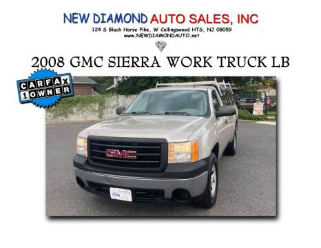 2008 GMC Sierra 1500 for sale at New Diamond Auto Sales, INC in West Collingswood Heights NJ