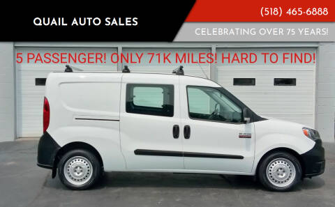 2017 RAM ProMaster City Cargo for sale at Quail Auto Sales in Albany NY