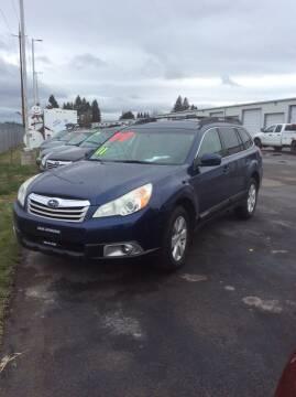 2011 Subaru Outback for sale at Atlas Automotive Sales in Hayden ID