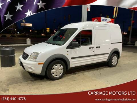 2010 Ford Transit Connect for sale at Carriage Motors LTD in Ingleside IL