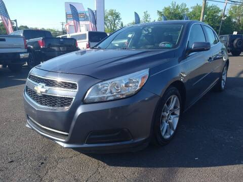 2013 Chevrolet Malibu for sale at P J McCafferty Inc in Langhorne PA