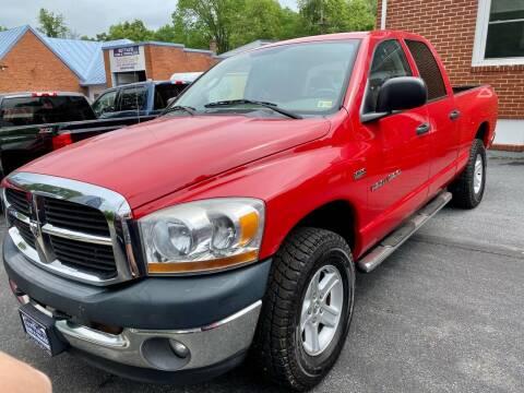 2006 Dodge Ram Pickup 1500 for sale at SETTLE'S CARS & TRUCKS in Flint Hill VA