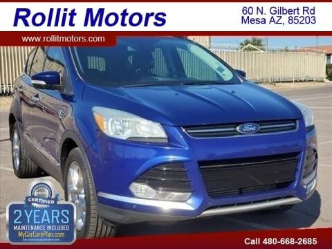2013 Ford Escape for sale at Rollit Motors in Mesa AZ