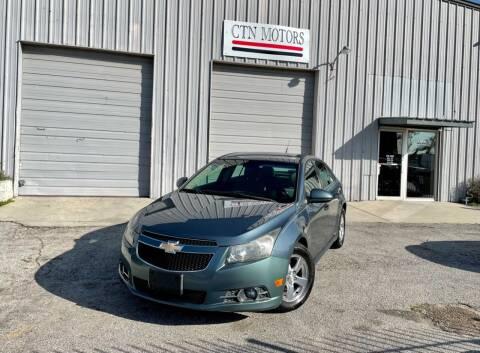 2012 Chevrolet Cruze for sale at CTN MOTORS in Houston TX