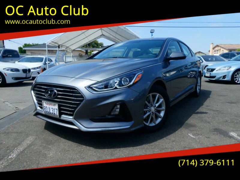 2018 Hyundai Sonata for sale in Midway City, CA