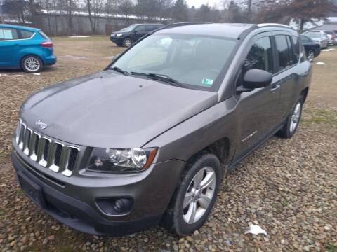 2014 Jeep Compass for sale at Seneca Motors, Inc. (Seneca PA) in Seneca PA