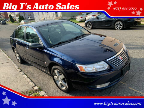 2007 Saturn Ion for sale at Big T's Auto Sales in Belleville NJ