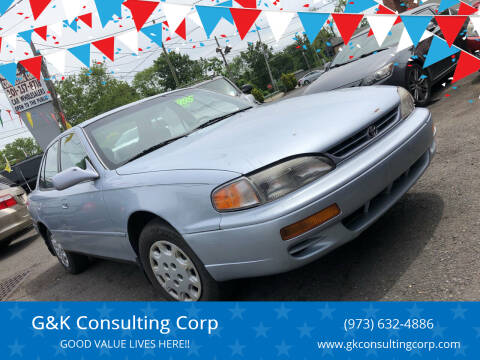 1996 Toyota Camry for sale at G&K Consulting Corp in Fair Lawn NJ