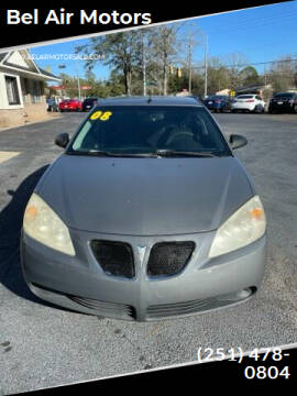 2008 Pontiac G6 for sale at Bel Air Motors in Mobile AL