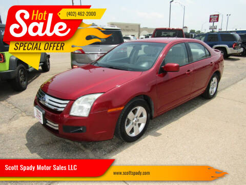 2008 Ford Fusion for sale at Scott Spady Motor Sales LLC in Hastings NE