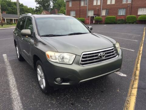2008 Toyota Highlander for sale at DEALS ON WHEELS in Moulton AL