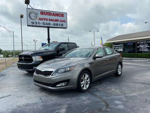 2013 Kia Optima for sale at Guidance Auto Sales LLC in Columbia TN