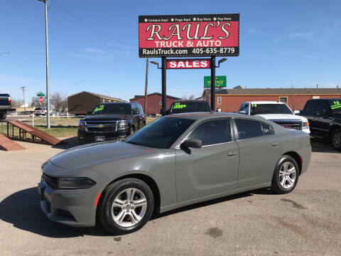 2019 Dodge Charger for sale at RAUL'S TRUCK & AUTO SALES, INC in Oklahoma City OK