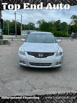 2012 Nissan Altima for sale at Top End Auto in North Atteboro MA