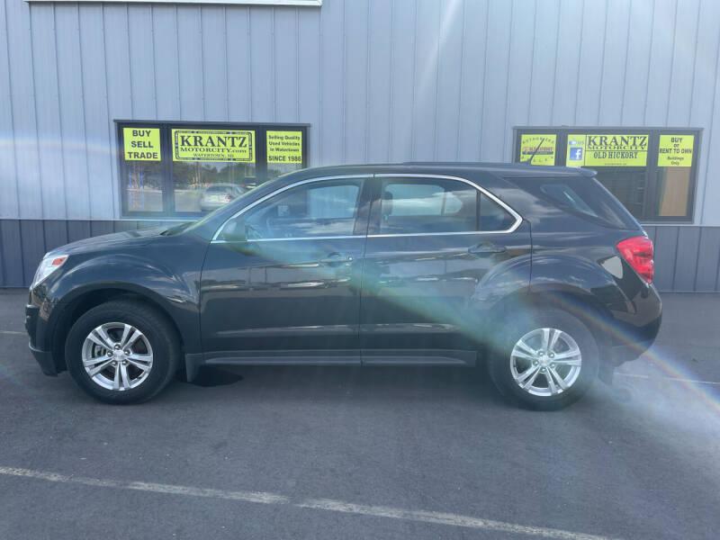2014 Chevrolet Equinox for sale at Krantz Motor City in Watertown SD