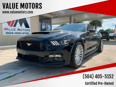 2016 Ford Mustang for sale at VALUE MOTORS in Kenner LA