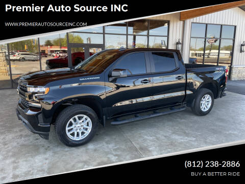 2021 Chevrolet Silverado 1500 for sale at Premier Auto Source INC in Terre Haute IN