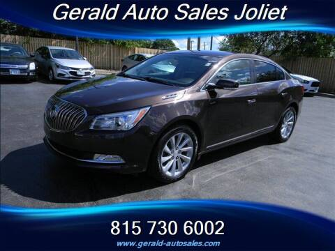 2016 Buick LaCrosse for sale at Gerald Auto Sales in Joliet IL