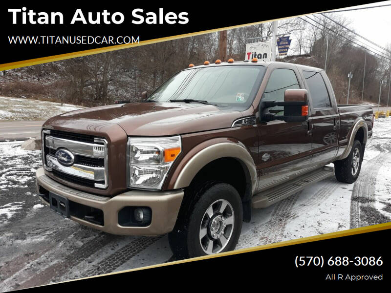 2012 Ford F-250 Super Duty for sale at Titan Auto Sales in Berwick PA